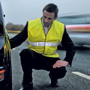 Motorist safety vest Thumbnail